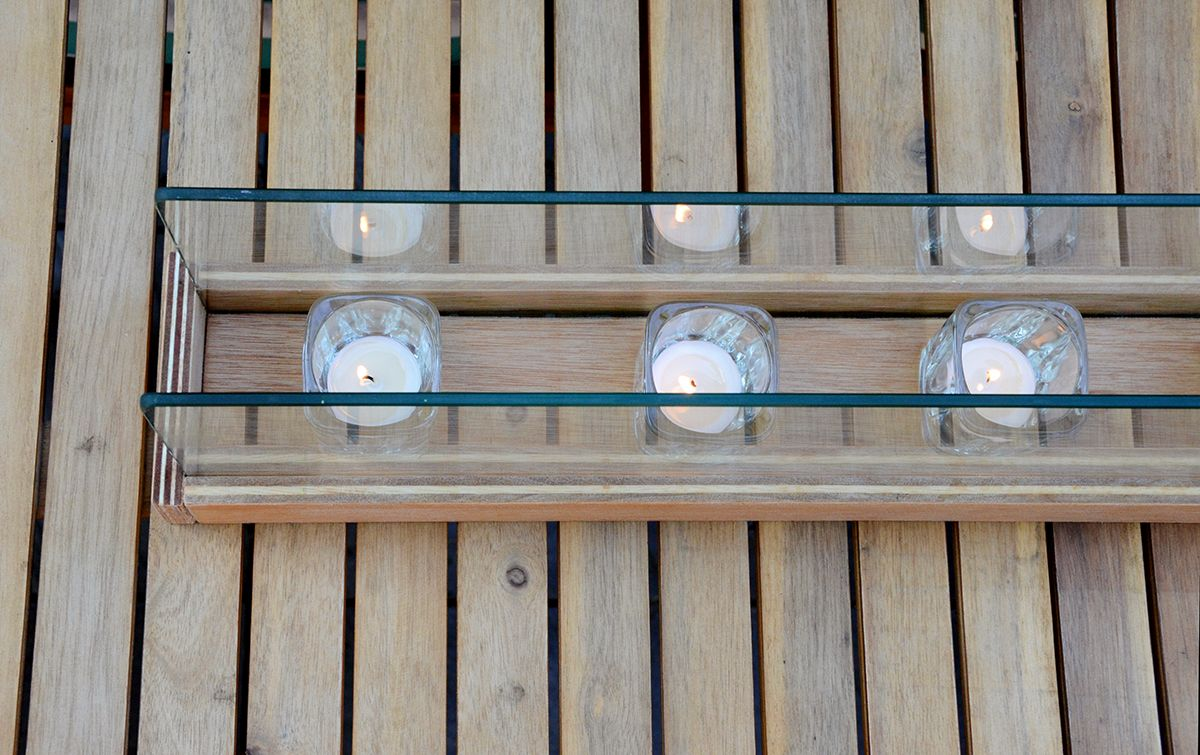 Diy outdoor lighting candles