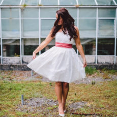 Diy wedding reception dress short