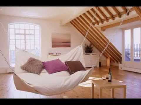 Diy attic hammock bed