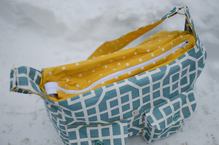 Diy quilted diaper bag