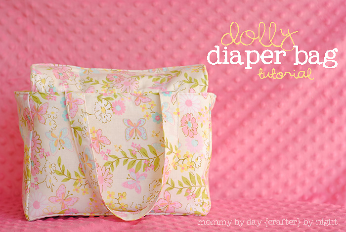Dolly diaper bag diy