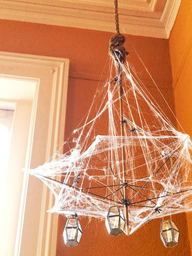 Hanging halloween lamp