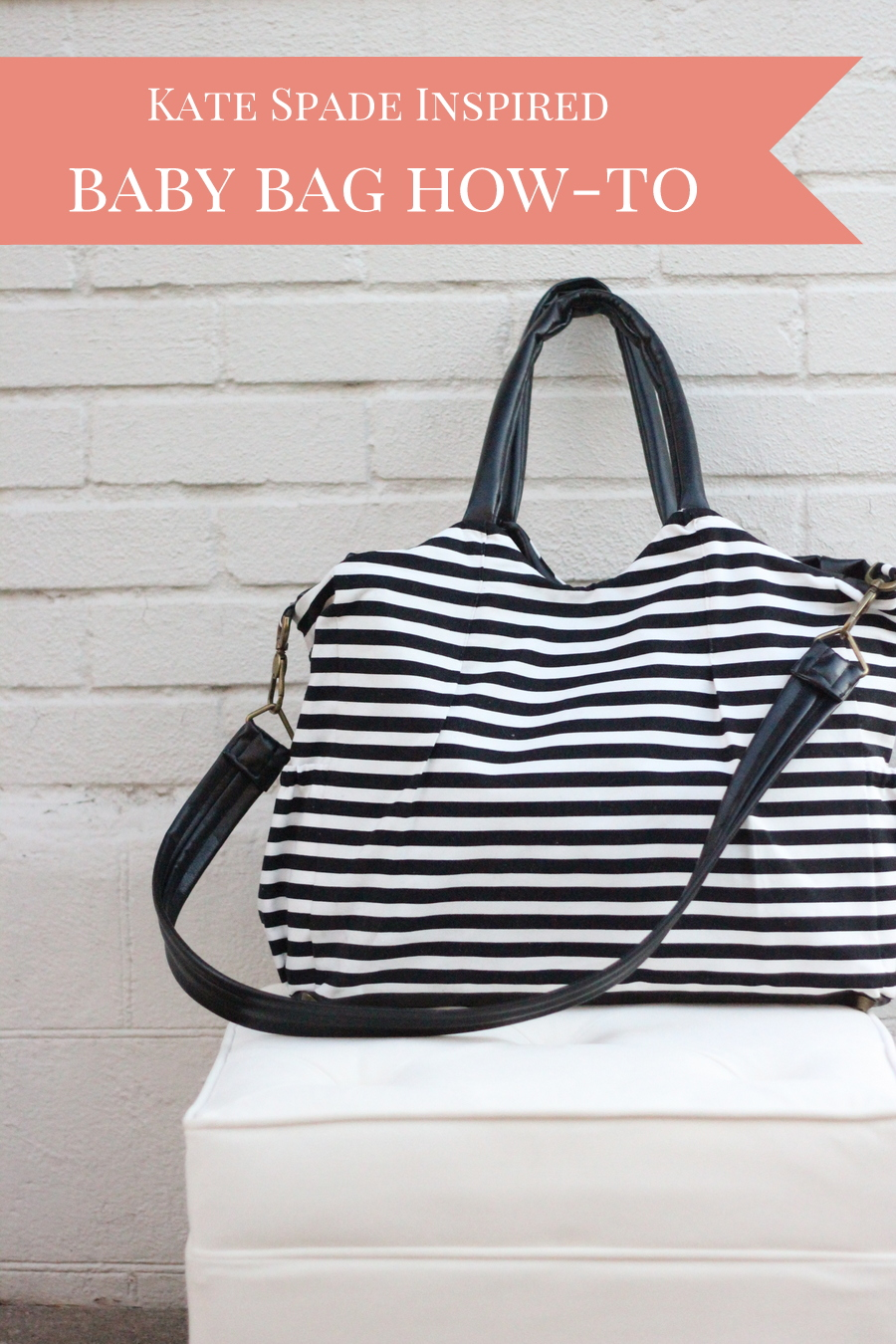 Kate spade diaper bag diy