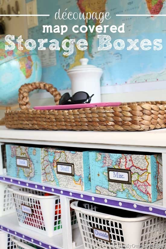 Map themed storage