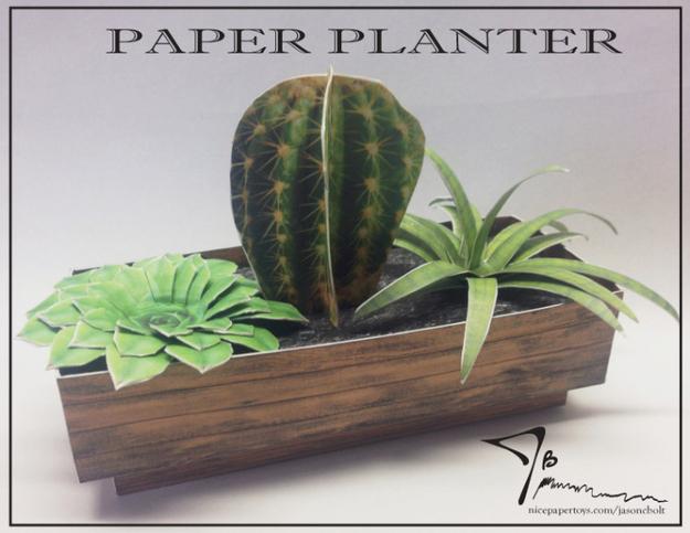 Paper planter