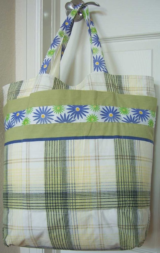Pillow case grocery sack