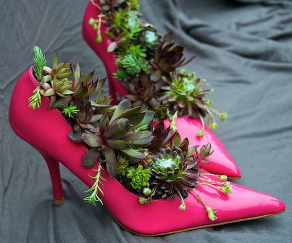 15 Creative Ways To Reuse Old Shoes