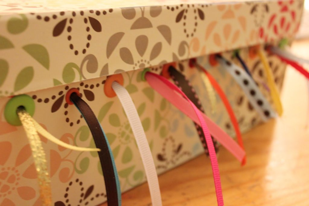 Ribbon storage and organizer