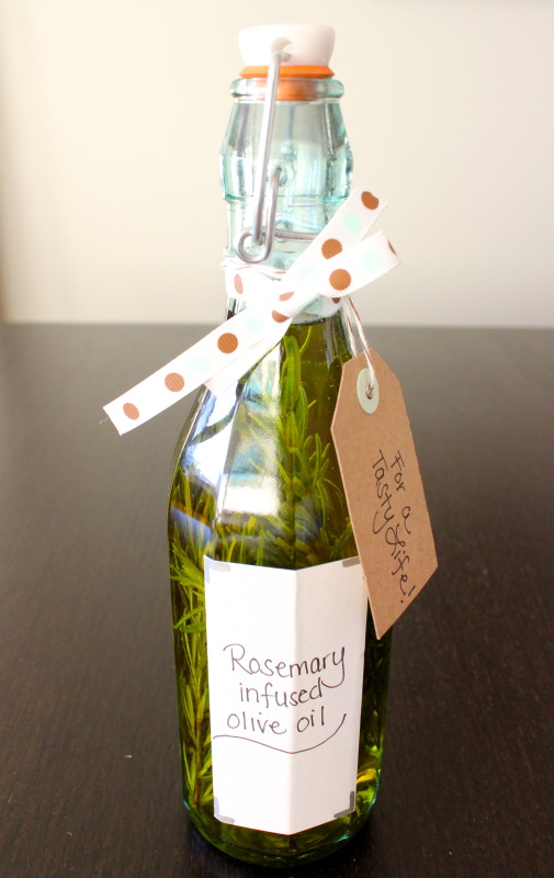 Rosemary olive oil diy