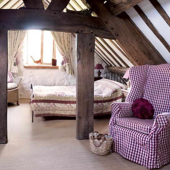 Rustic extra bedroom