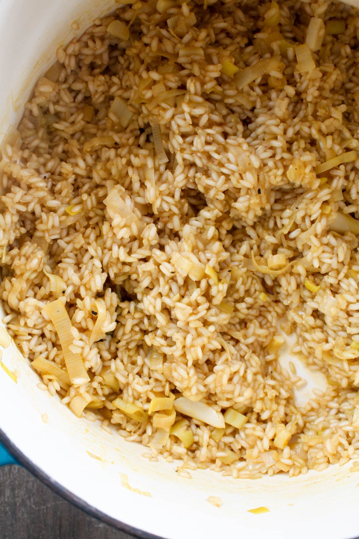 Spring risotto recipe rice
