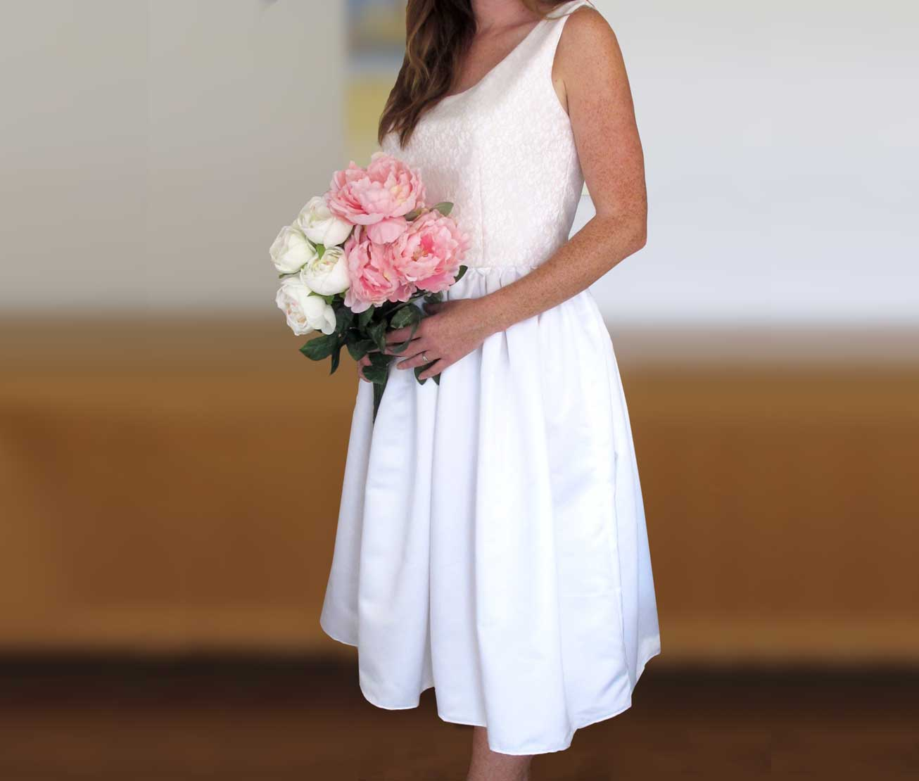 Summer diy wedding dress