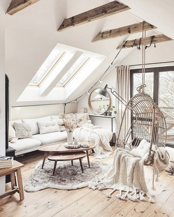 Boho attic