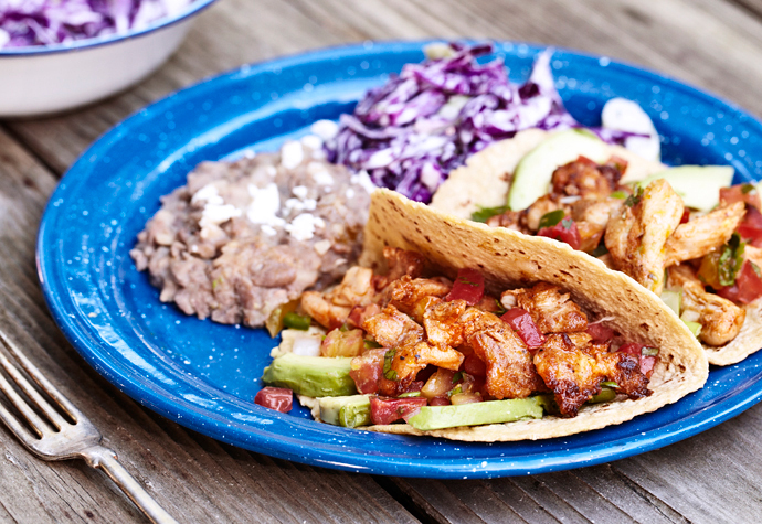 Camp tacos