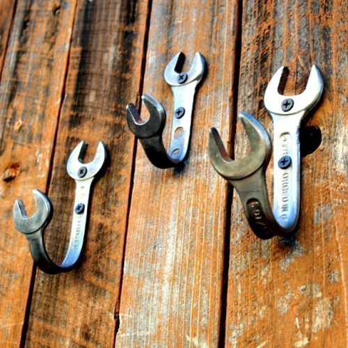 Diy wrench hooks