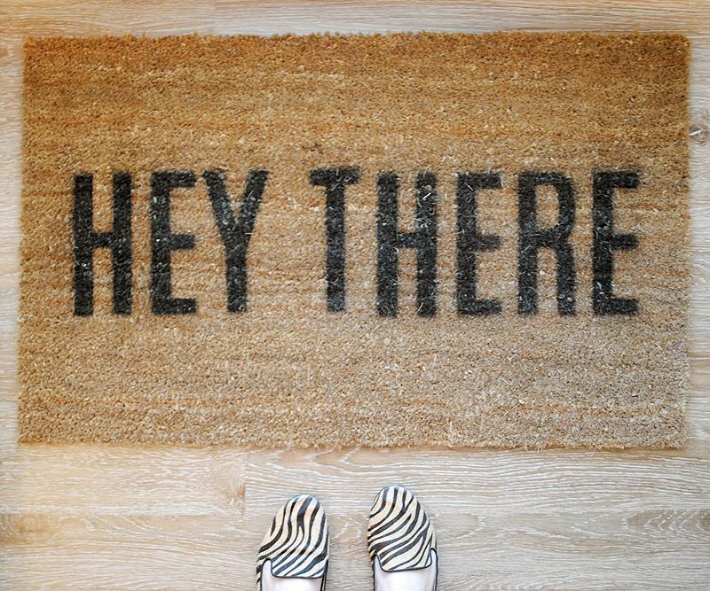 Doormat diy