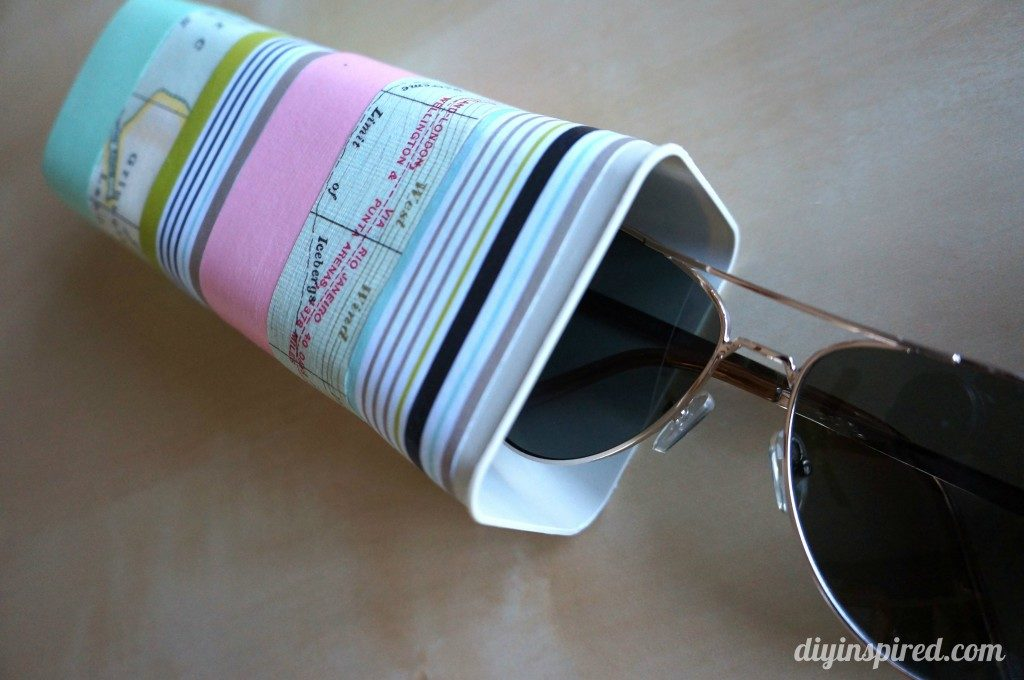 Drink mix container sunglasses case