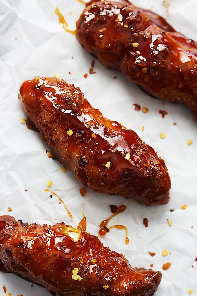Firecracker chicken tenders