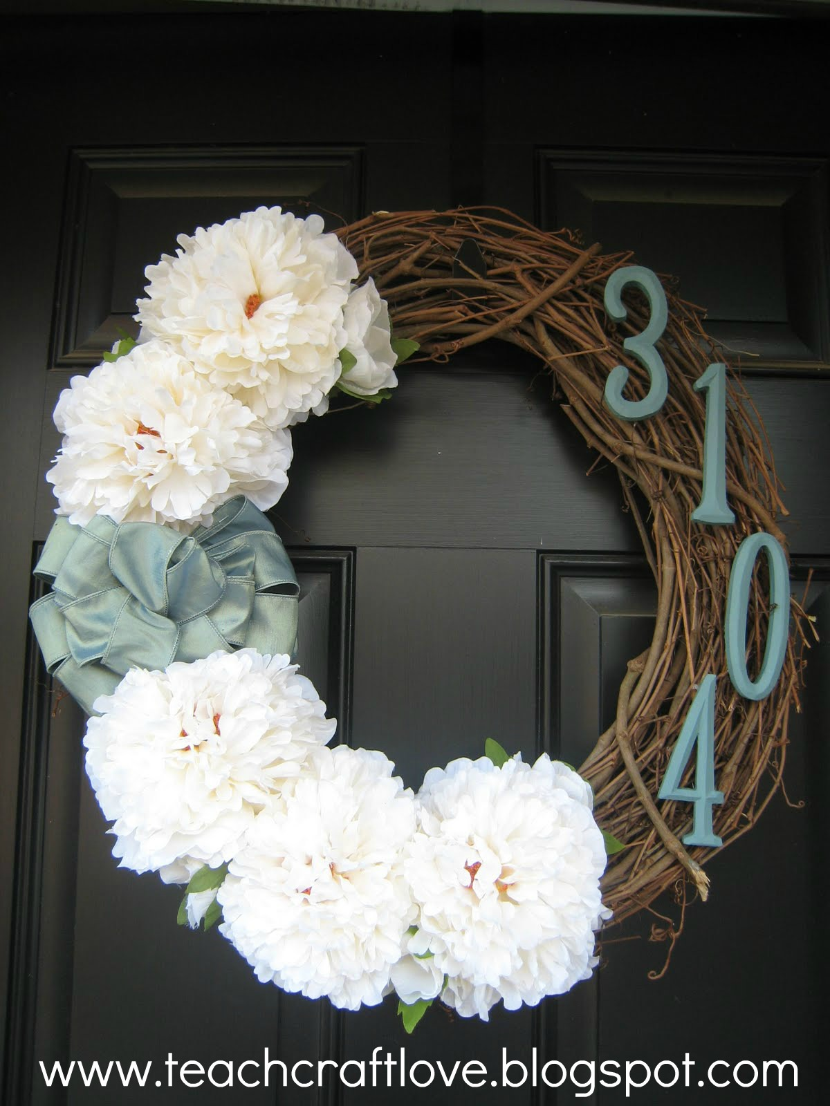 Front wreath diy