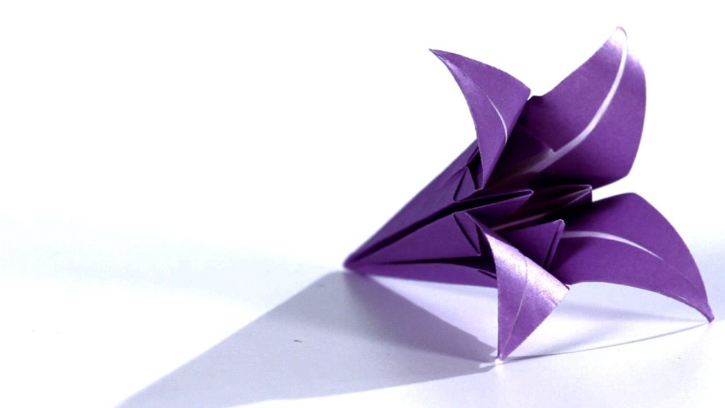 Decorate your home with these beautiful origami flowers origami lily mightylinksfo