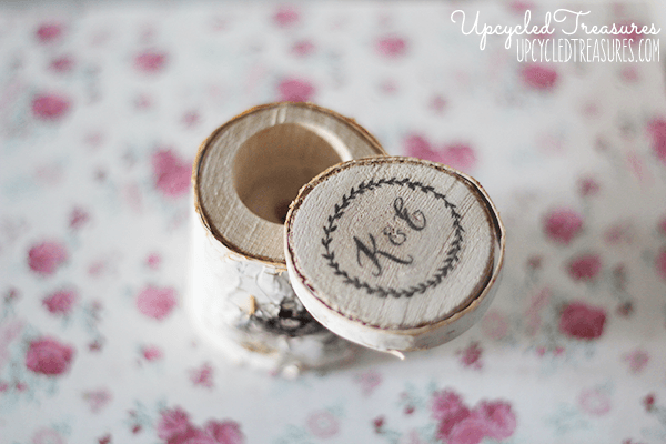 10 rustic ring box diy