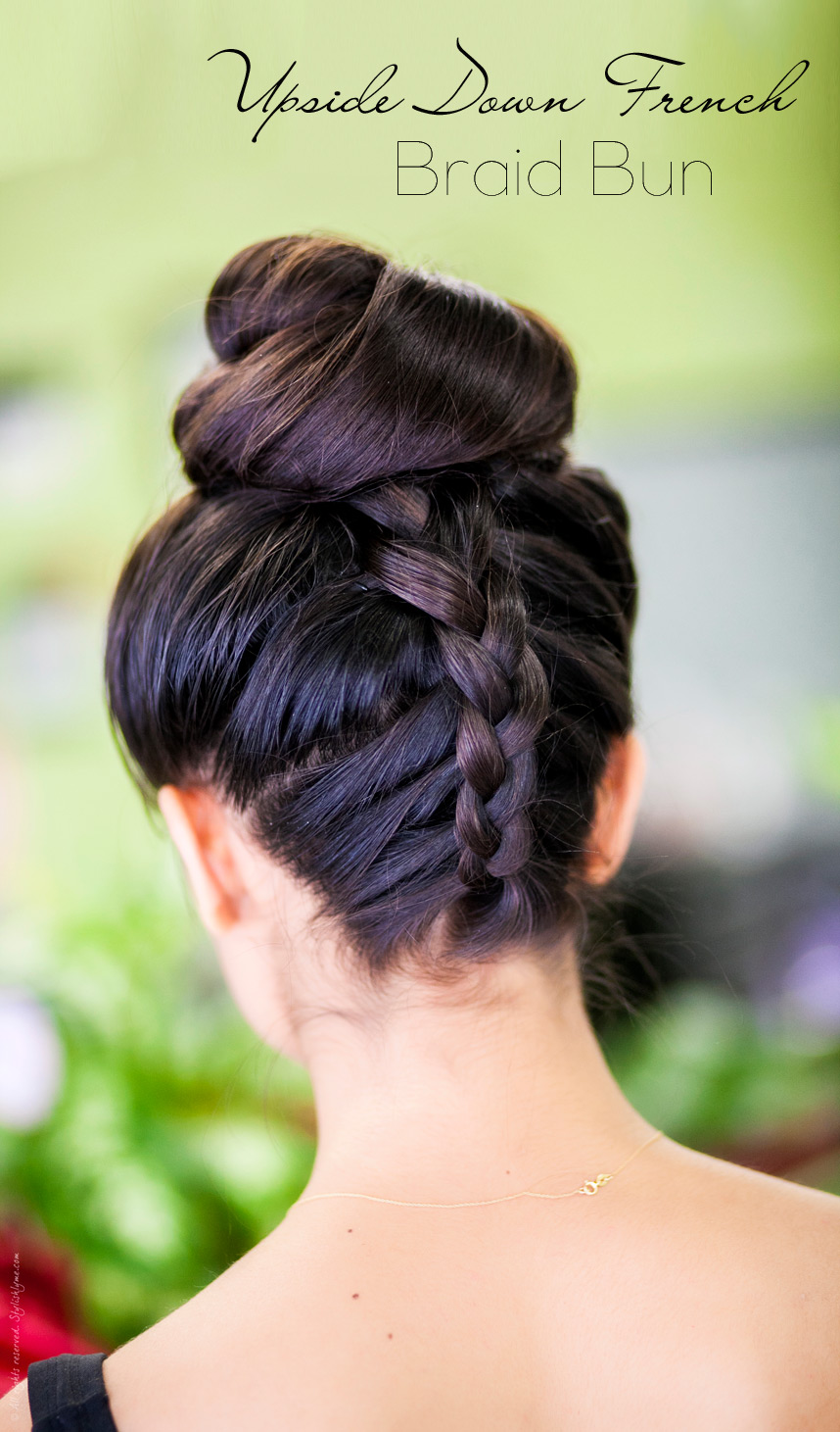 braided hair bun styles 25 easy hairstyles for hair 7753