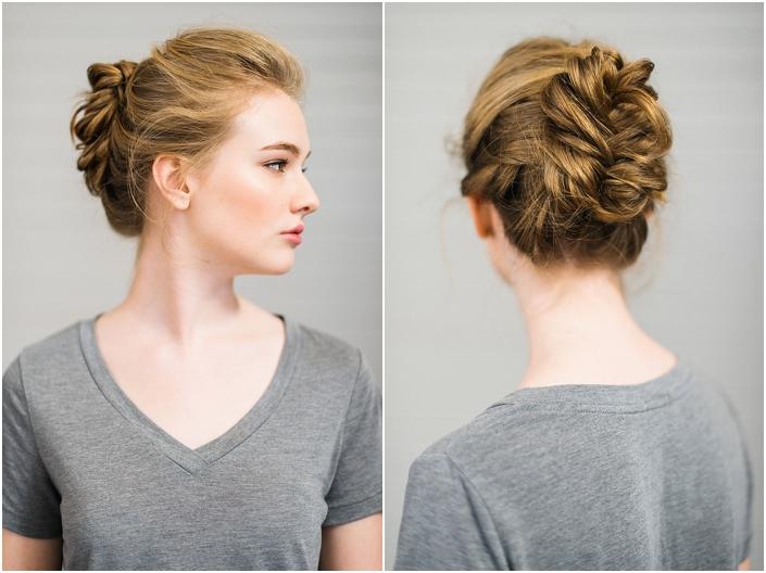 11 diy elegant updo diy hair