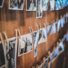 15 rustic photo wall