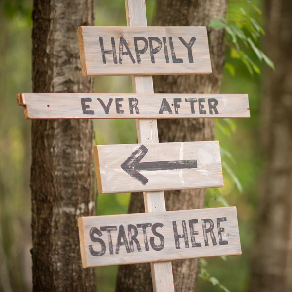 29 happily ever after sign