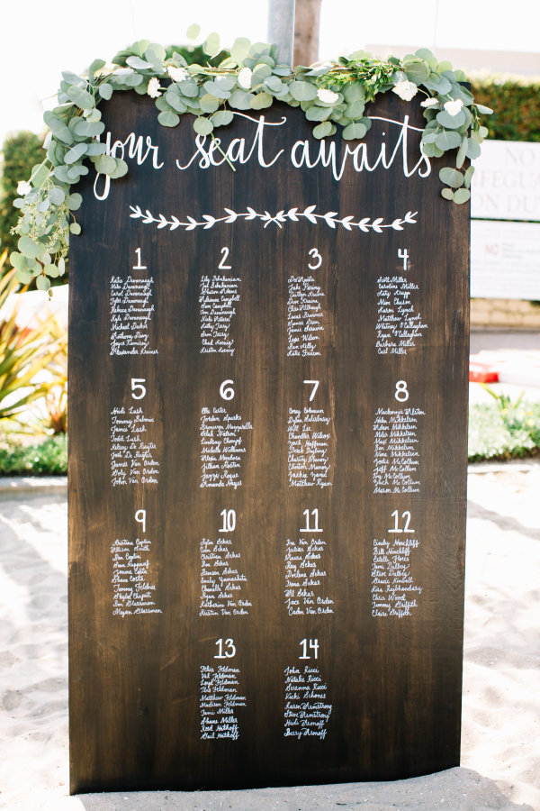 37 rustic seating chart wedding