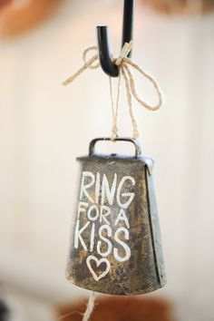 wedding kiss bell