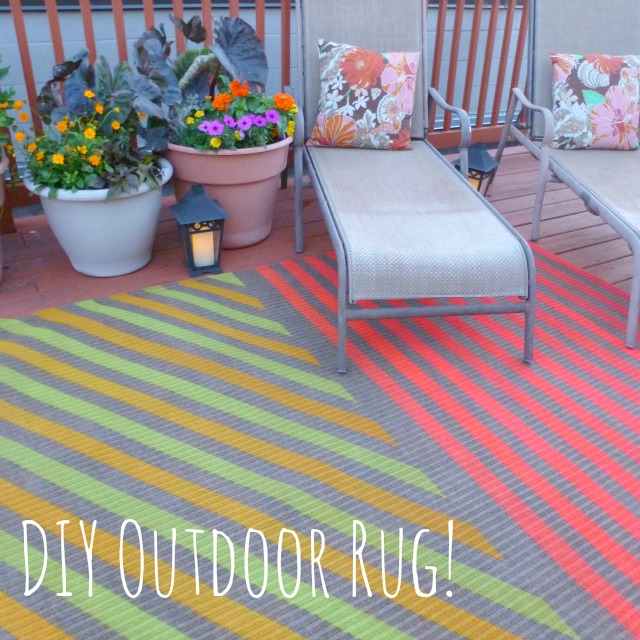 6 diy outdoor rug