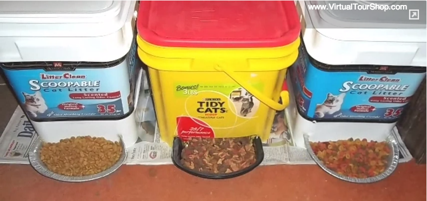 Cat Litter Buckets For Food Storage
