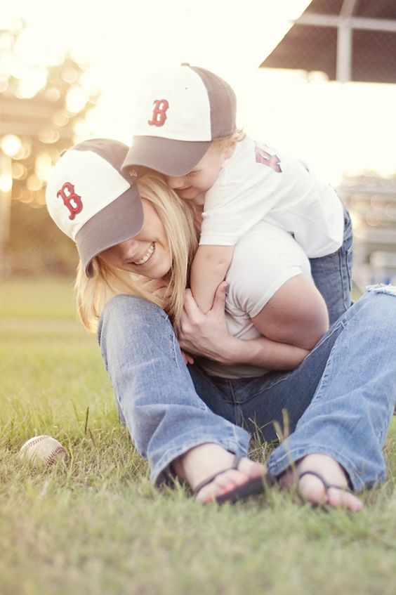 Baseball family photoshoot