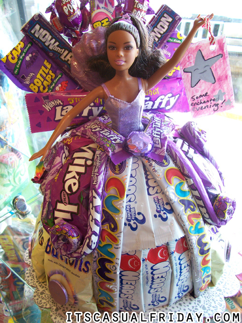 Candy barbie doll dress