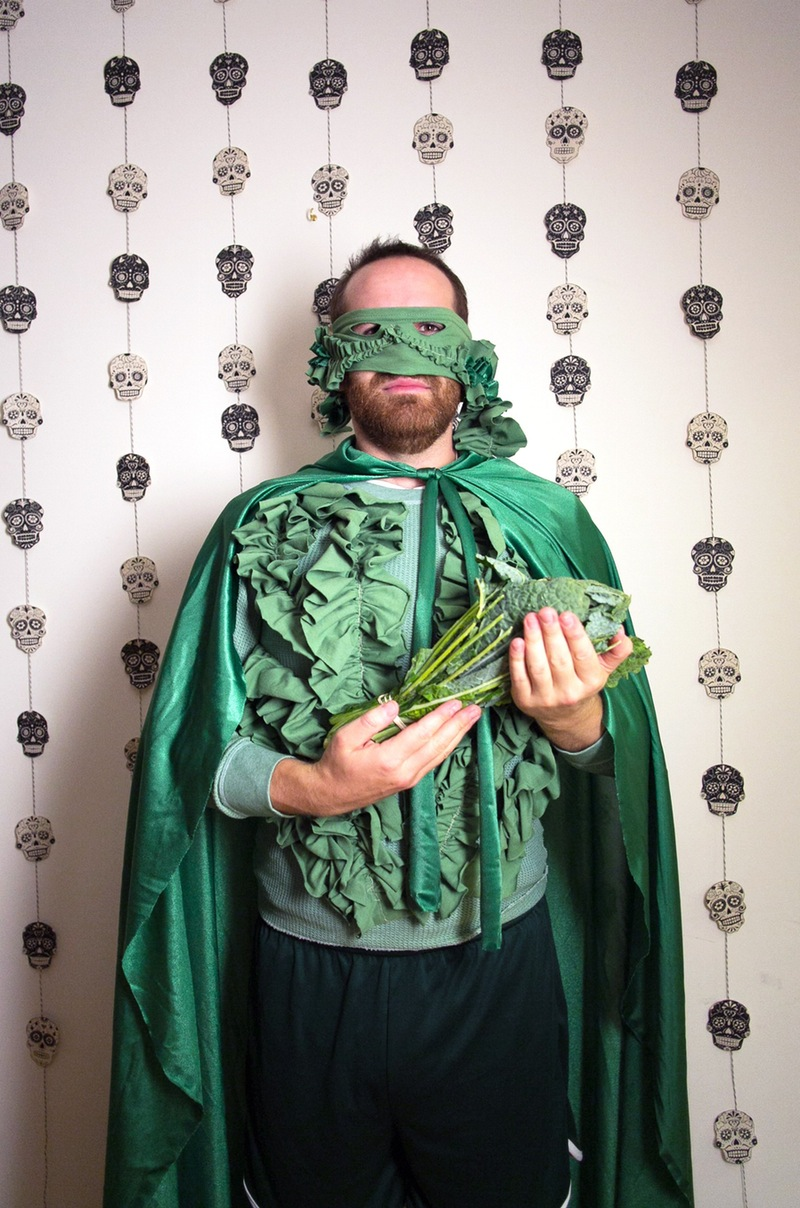 Captain kale diy costume