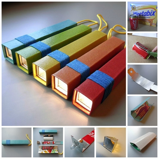 15 crafts using empty cereal boxes