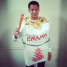 Chinese take out costume diy