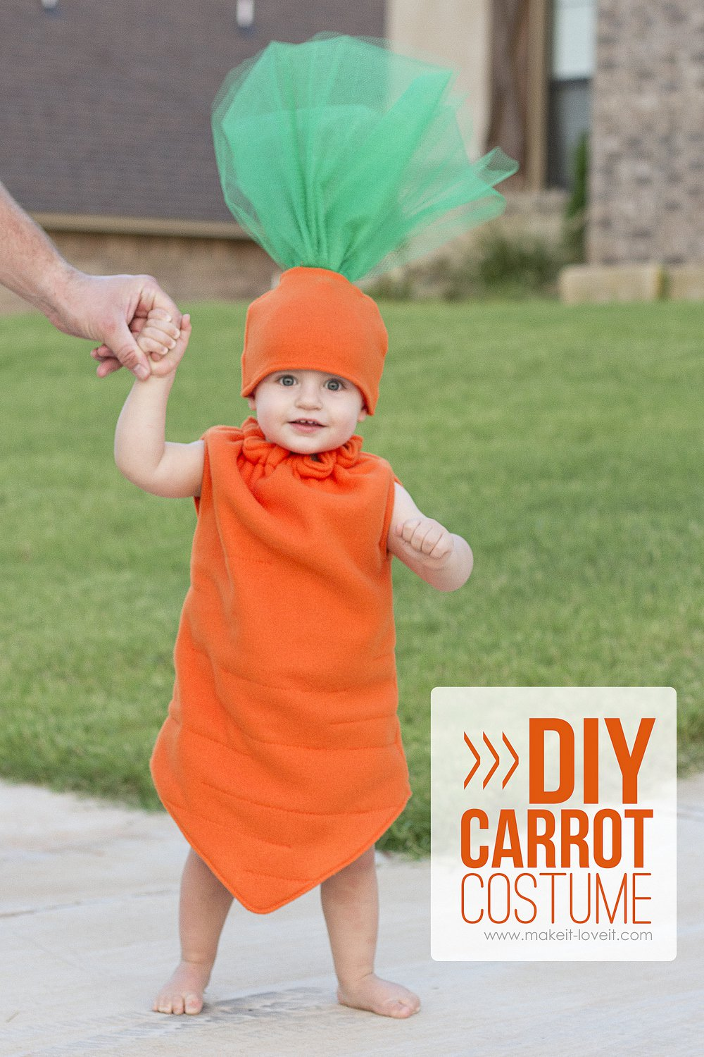 Diy carrot costume