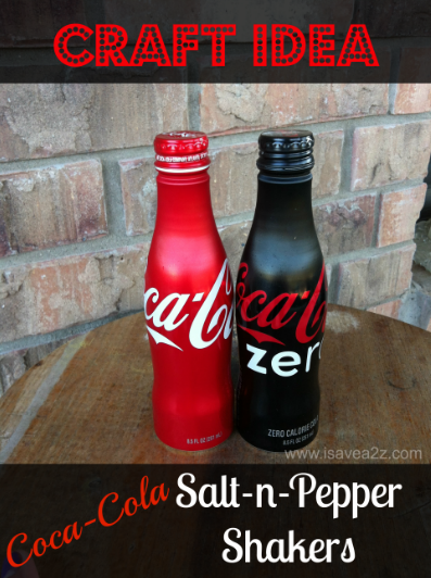 Diy coke bottle shakers