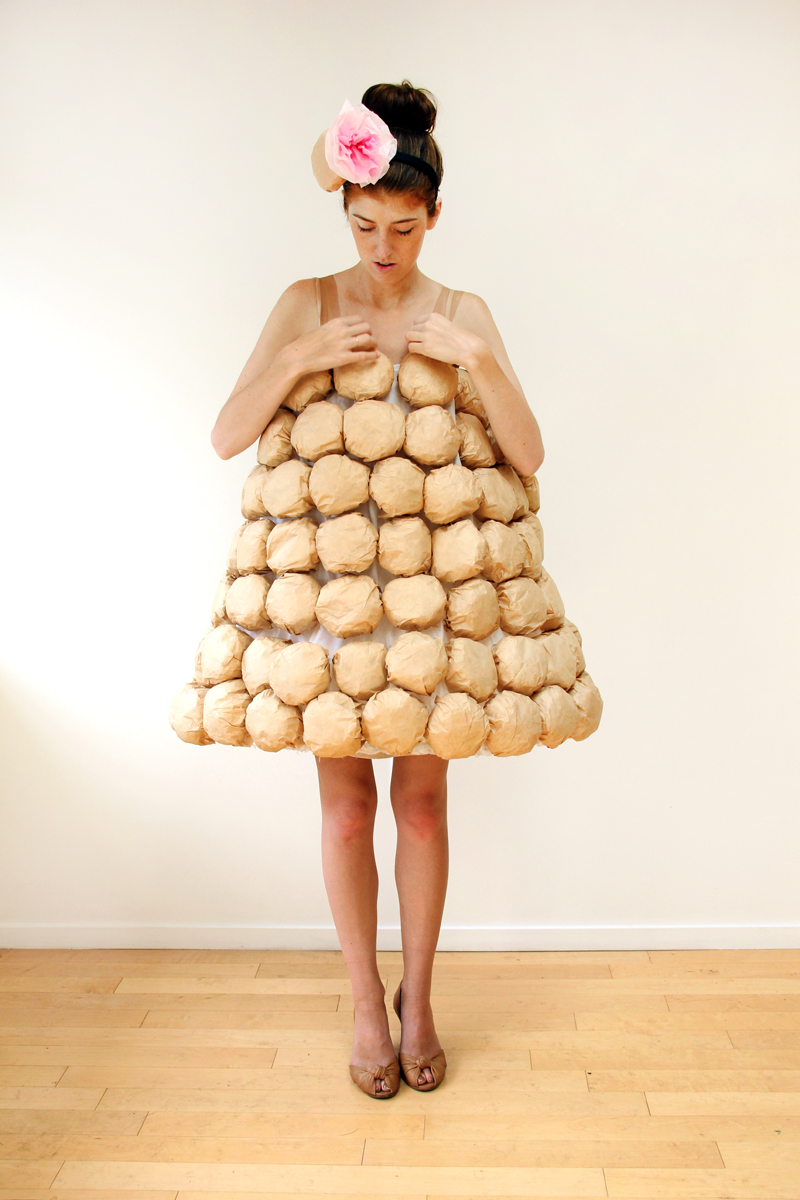 From bananas to tacos these 50 food costumes are easy to diy diy croquembouche costume solutioingenieria