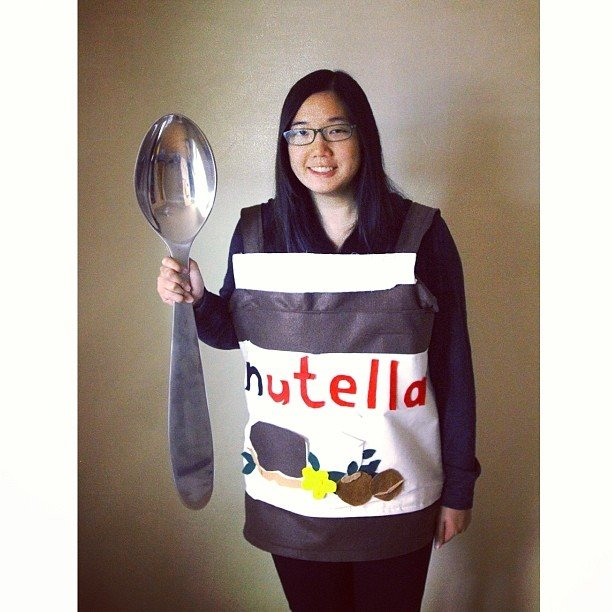 Diy nutella costume