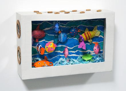 Diy cardboard aquarium