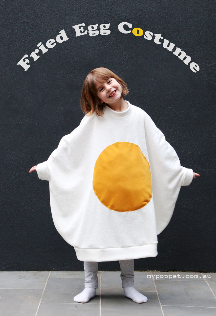 Diy fried egg costume