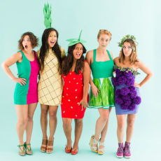 Diy fruit salad costumes