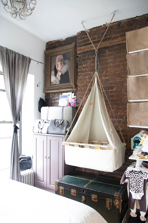 Diy hanging tent vintage revival cradle