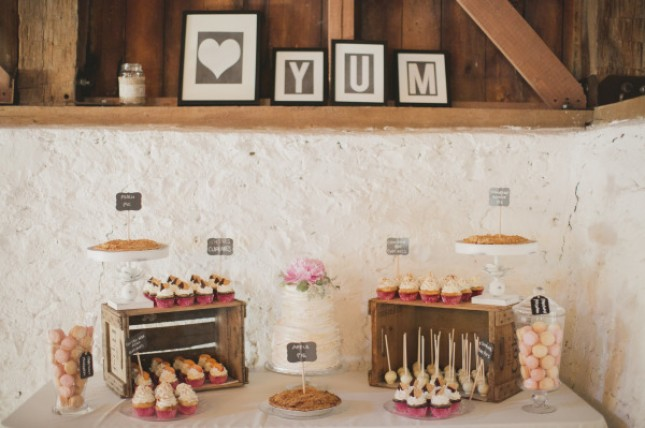 Dessert showcase
