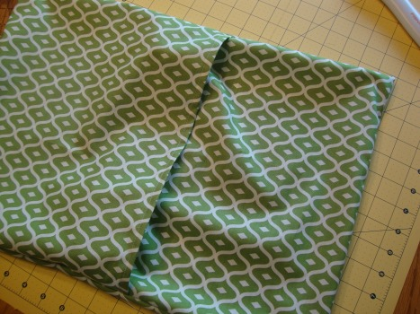 Envelope style pillow case