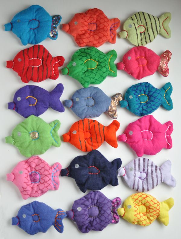 Flannel fishies