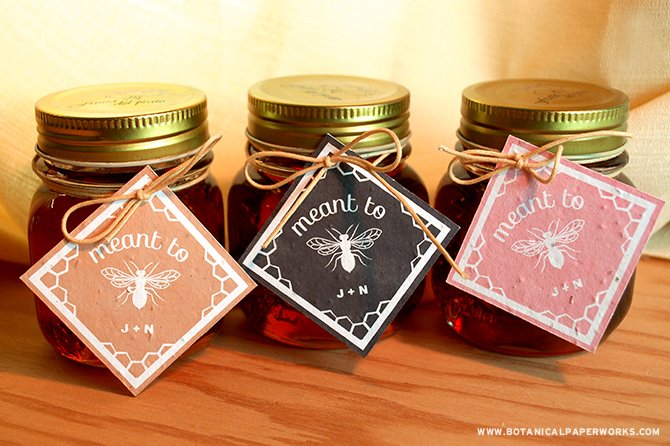 Honey wedding favors 3